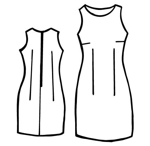 Etuikleid schnittmuster download – Stilvolle Kleider